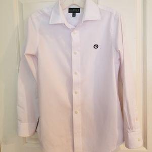 Ralph Lauren boys white dress shirt